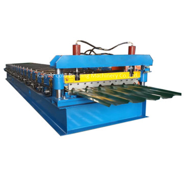 Galvanized IBR Roof Tile Cold Rolling Forming Line