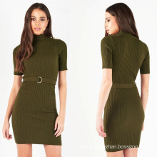 Ladies Lipsy Military Button Dress