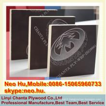 Linyi prix le moins cher avec une bonne qualité Contreplaqué en coffrage