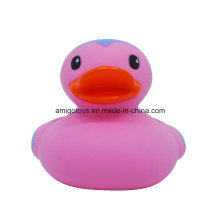 Pink PVC Logo Customized Bath Ducks