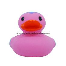 Logotipo cor-de-rosa do PVC Patos personalizados do banho