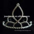 cheap wholesale hair accessories crystal tiara shape metal headband