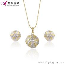 63445 Xuping Modeschmuck Elegantes, schönes, vergoldetes Schmuckset in heißen Verkaufsräumen