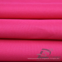 Resistente al agua y al aire libre ropa deportiva chaqueta de tela Tejido Pongee Peach piel tela escocesa Jacquard 100% tela de poliéster (63028)