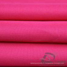Imperméable à l'eau et à l'extérieur Vêtements de sport en plein air Veste en coton Teinté Peach Peach Plaid Jacquard 100% Tissu en polyester (63028)