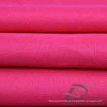 Water & Wind-Resistant Sportswear ao ar livre Down Jacket Tecido Pongee Peach Skin Plaid Jacquard 100% Tecido de poliéster (63028)