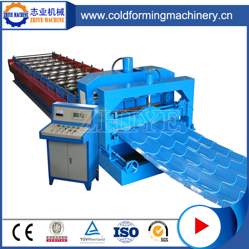 roof tile sheet rolling forming machine, glazed molding rolling forming machine