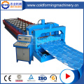 Aluminium Glazed Color Roof Tiles Forming Machine
