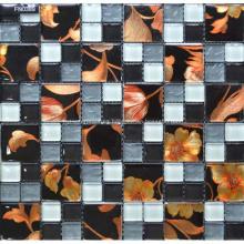 Azulejo mosaico de piedra de alta calidad para el piso de la ducha