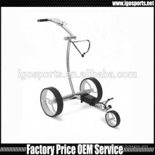 noiseless motor golf cart