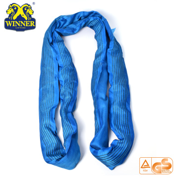 Heavy Duty 8T Lashing Endless Polyester Round Sling