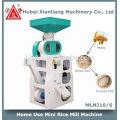 Usage domestique mini petit moulin à riz machine ensemble complet