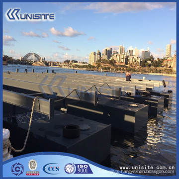 floating pontoon boat pontoon for marine building and dredging(USA1-025)