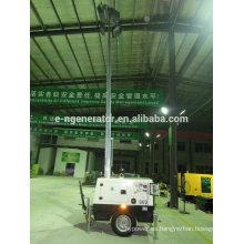 remolque de torre de luz con generador Por fabricante EN POWER