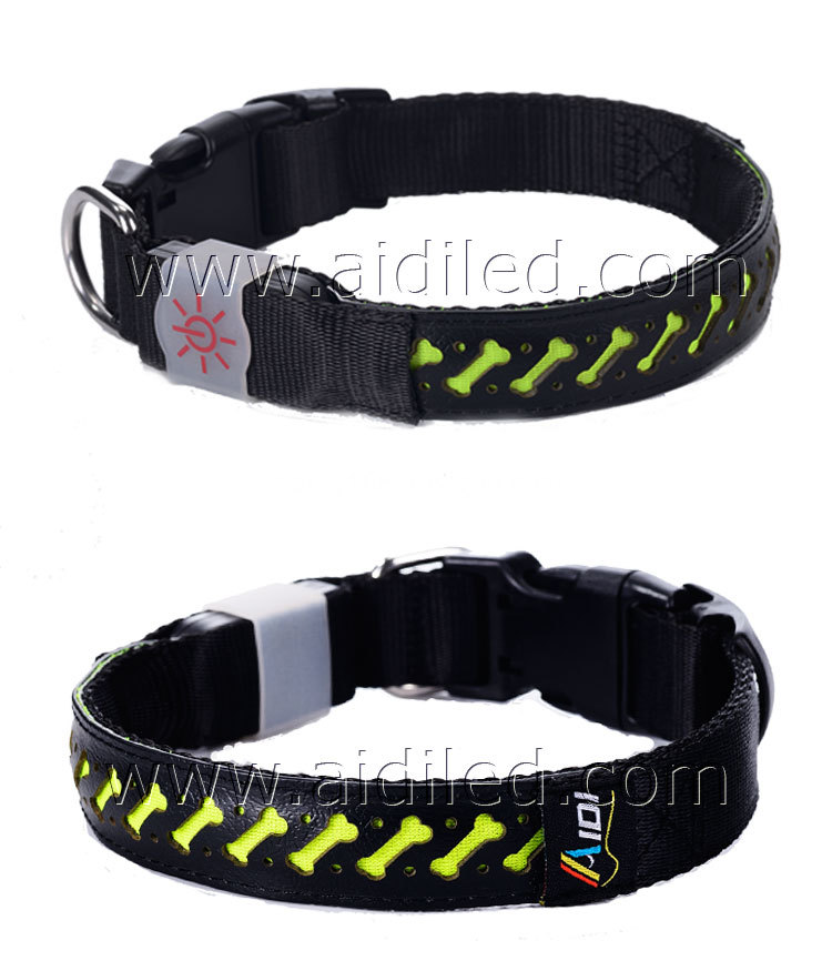 led dog collar light up