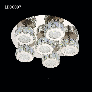 LD06097-2 Venta al por mayor Crystal Ceiling Light Home
