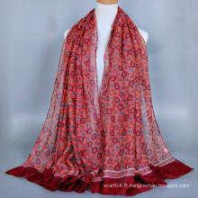 Positionnement du cercle d'impression design saudi hijab