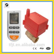 Válvula de control de temperatura inalámbrica de latón DC12V DC24V