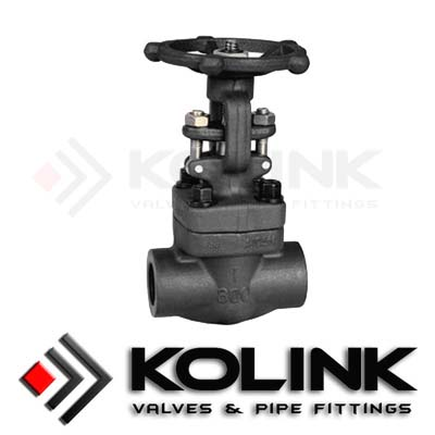 Forged Steel Gate Valve (SW/Threaded End)