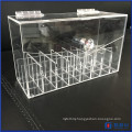 Acrylic Lipstick Organizer Dustproof Lipgloss Holder Case Makeup Storage Beauty Container