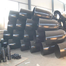 Black painting sch40 steel 90 degree pipe fitting elbow