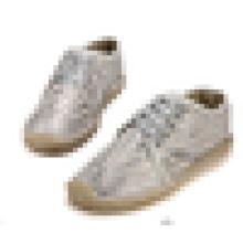 Art und Weise beiläufige Schuhe glänzende schnüren sich oben Männer espadrille Schuhe