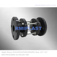 PVC Sight Glass Flange End ANSI CL150