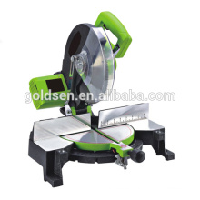 "10"" 1800W Power Aluminum Wood Cutting Miter Circular Saw Belt Drive Electric 254mm Mitre Saw GW8023A"
