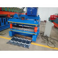 Galvanis Aluminium Metal Roof Tile Roll Forming Machine