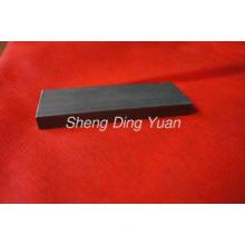 Black Precision Cold Drawn Rectangular Steel Tube For Texti