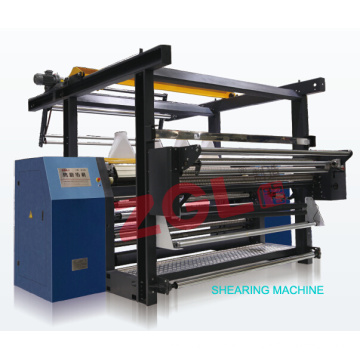 Shearing Machine for Velvet Fabric