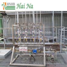 Épurateur de traitement des gaz de combustion pour la purification de l'air