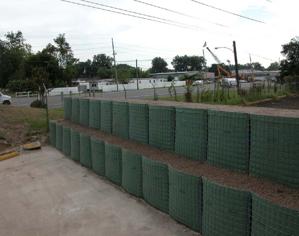 Gabion Hesco Barrier