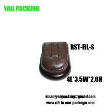 Fabricante de carrinho de exposição de jóias PU marrom (RST-RL-S)