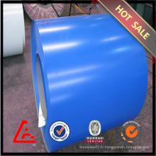 Feuille d'acier galvanisée pré-peinte de qualité supérieure en bobine en stock Fourniture en Chine