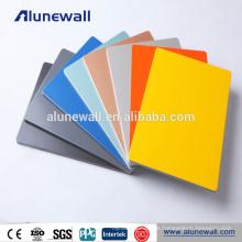 Material de publicidad exterior panel compuesto de aluminio exterior ACP para revestimiento de paredes