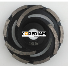Roda do copo de moedura do ciclone D115