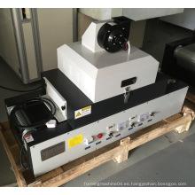Máquina de curado UV portátil con cinta de teflón