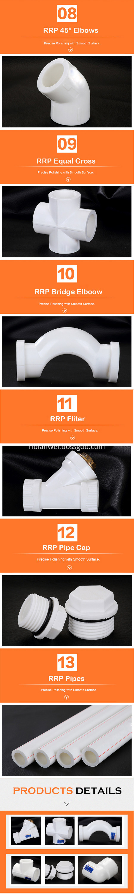 PPR ELBOW SOCKET PIPE FITTINGS