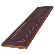 Puerta blindada de madera sólida a prueba de balas / turquesa