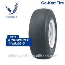 chine grande usine fabrication aller kart pneu 11 * 6-5 choix de qualité