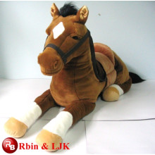 Meet EN71 and ASTM standard ICTI plush toy factory plush plush horse toy