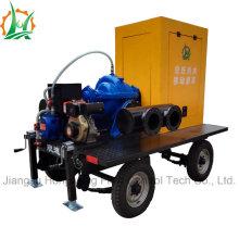 Pompe centrifuge à aspiration double et étanche à haute pression
