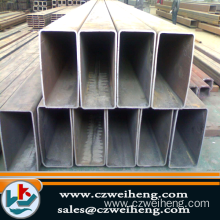 Q345 Structural Welded Steel Tube , Beveled Square Steel Tubing