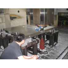 serviço de usinagem de placa de alumínio