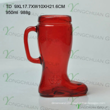 Beer Glass Boot Boot Shaped Beer Glass Small Beer Glass Boot Boot Shaped Beer Glass with Handle