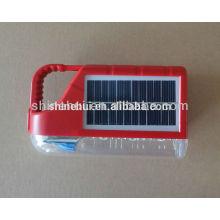 Mini lanterna de acampamento solar conveniente / luz solar da manivela / assassino solar do inseto