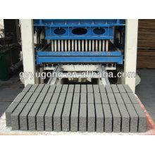 Yugong QT10-15 tijolo automático que faz a máquina com bom elogio público