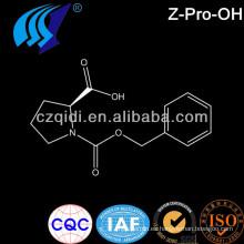 Precio de fábrica de Z-Pro-OH / N-benciloxicarbonil-L-prolina cas1148-11-4 C13H15NO4