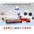 Wasserring-Pelletisierungssystem Doppelschnecken-Kunststoffextruder